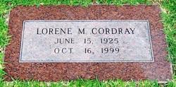 Lorene Mae <i>Ward</i> Cordray
