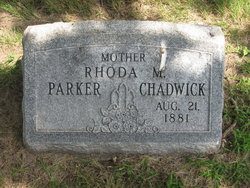 Rhoda May <i>Varner</i> Chadwick