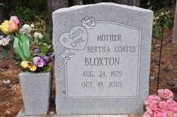 Bertha <i>Coates</i> Bloxton