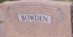 Ernest Butler Bowden