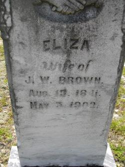 Eliza <i>Odom</i> Brown