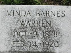 Arminda Minda <i>Barnes</i> Warren