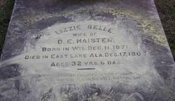 Lizzie Belle <i>Maxwell</i> Haisten