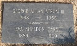 George Allan Strom, III