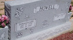 Donald Carr Howell
