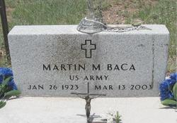 Martin M Baca
