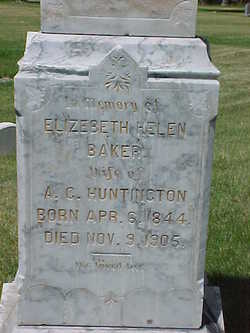 Elizabeth Helen <i>Baker</i> Huntington