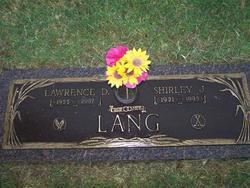 Shirley J <i>Anderson</i> Lang