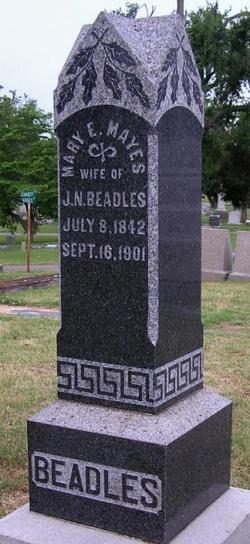 Mary Elizabeth <i>Mayes</i> Beadles