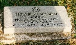 Phillip A Benson