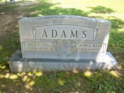 Nancy Ann <i>Johnson</i> Adams