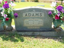Anna Mae <i>Bivens</i> Adams