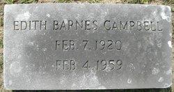 Edith <i>Barnes</i> Campbell