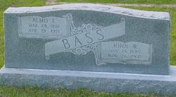 Alma Fannie <i>Dozier</i> Bass