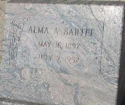 Alma A. <i>Ratliff</i> Bartee