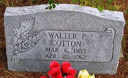 Walter P Cotton