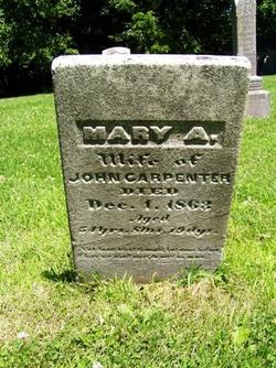 Mary Ann <i>Pray</i> Carpenter