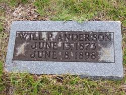 Will P. Anderson