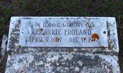 Frankie Thelmer Froland