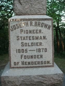 Joseph Renshaw Brown
