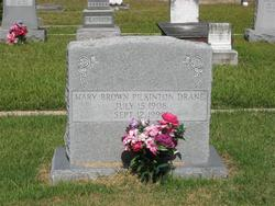 Mary Brown <i>Pilkinton</i> Drane