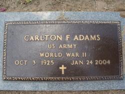 Carlton F Adams