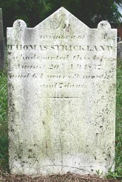 Thomas Strickland