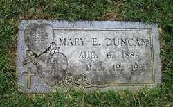 Mary Emma Bessie <i>Cooper</i> Duncan