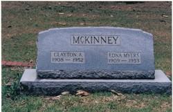 Edna Lula <i>Myers</i> McKinney