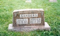 Sarah Ann <i>Wallace</i> Sanders