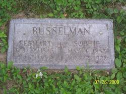 Sophie <i>Fischer</i> Busselmann
