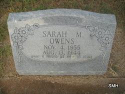 Sarah Matilda <i>Robertson</i> Owens