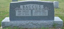 Pvt Sam Shultz Baccus