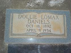 Dollie <i>Lomax</i> Daniels