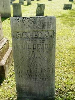 Sally Adelia <i>Smith</i> DeWolf