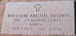William Archie Bud Brown