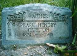Pearl <i>Hendry</i> Carlton