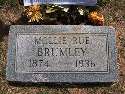 Mary A Mollie <i>Rue</i> Brumley