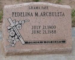 Fedelina Grama Faye <i>M.</i> Archuleta