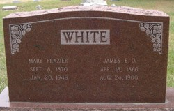 Mary <i>Frazier</i> White