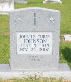 Johnile <i>Curry</i> Johnson