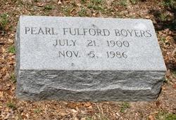 Pearl <i>Fulford</i> Boyers
