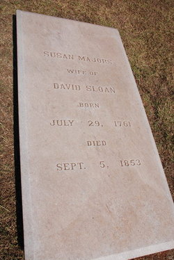 Susannah Susan <i>Majors</i> Sloan