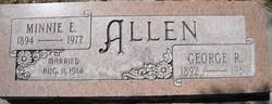 Minnie E Allen