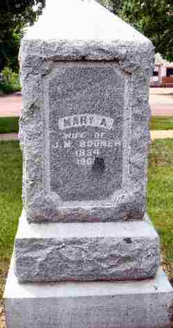 Mary Ann <i>Haigh</i> Boomer