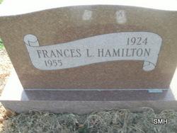 Frances L. Hamilton