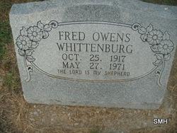 Fred Owens Whittenburg