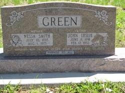 Nessa <i>Smith</i> Green