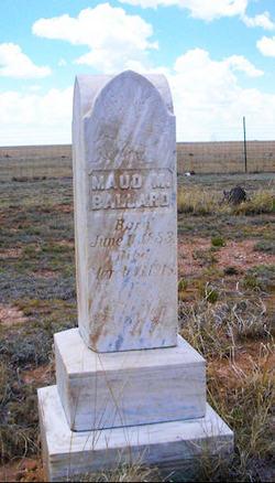 Maud M Ballard