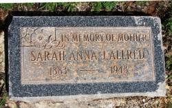 Sarah Anna <i>Johnson</i> Allred